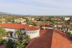 Beautiful landscapes in Santa Barbara, California Stock Photos