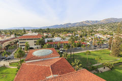 Beautiful landscapes in Santa Barbara, California Stock Photography
