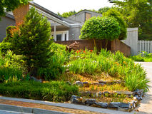 Beautiful Landscaping royalty free stock image
