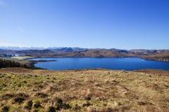 View to Loch Ewe near Poolewe, Scotland Stock Photo