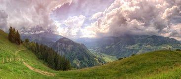Beautiful landspcape in Switzerland Stock Photo