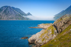 Beautiful Landsscape, Lofoten,Scandinavia, Europe. Stock Photos