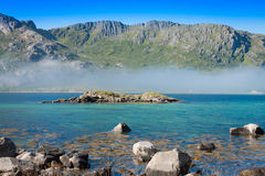 Beautiful Landsscape, Lofoten,Scandinavia, Europe. Stock Image