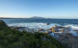 Beautiful lanscape of bermagui in Australia Stock Image