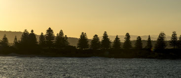 Beautiful lanscape of bermagui in Australia Royalty Free Stock Photography