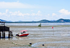 Beautiful lanscape of mud beach, Phuket, Thailand 3 Stock Image
