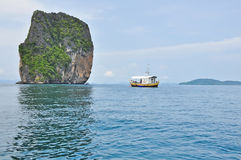 Beautiful lanscape of Poda island, Andaman sea, Krabi Thailand Stock Image