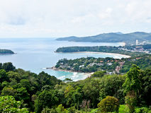 Beautiful lanscape of three bays, Phuket, Thailand 1 Royalty Free Stock Photo