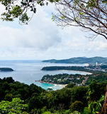 Beautiful lanscape of three bays, Phuket, Thailand 2 Royalty Free Stock Image