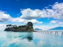 Beautiful lanscape of Zakinthos island Royalty Free Stock Image