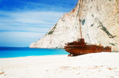 Beautiful lanscape of Zakinthos island Stock Photography