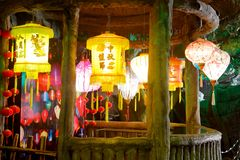 Free Beautiful Lantern In Laoyuanzi Museum, Srgb Image Royalty Free Stock Photos - 135442808