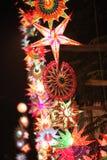 Beautiful Lanterns Tower Royalty Free Stock Photos