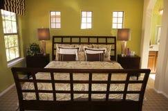 Beautiful large bedroom Stock Photo
