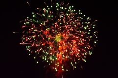 Large fireworks display event background. Beautiful large fireworks display event background stock photography