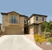 Beautiful large new home in Arizona Royalty Free Stock Photo