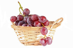 Beautiful large resh rose grapes Stock Image