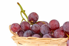 Beautiful large resh rose grapes Royalty Free Stock Photos
