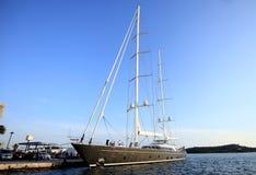 A beautiful large sailing ship,big stock images