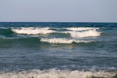 Beautiful large sea waves Stock Photo