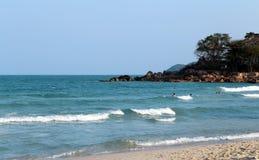 Beautiful large sea waves Royalty Free Stock Photography