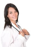 Beautiful latin american doctor Royalty Free Stock Images