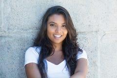 Beautiful latin american woman with long hair Royalty Free Stock Photo