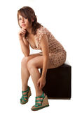 Beautiful latin girl Royalty Free Stock Image