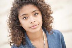 Beautiful Latin girl Stock Images