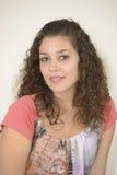 Beautiful latin girl stock photo