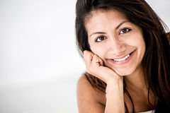 Beautiful Latin woman Stock Photos