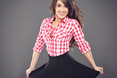 Beautiful latin woman stock photography