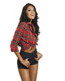 Beautiful latina fashion model Stock Photo