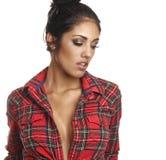 Beautiful latina fashion model Stock Image