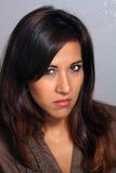 Beautiful Latina, Headshot (8) Royalty Free Stock Photography
