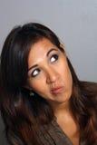 Beautiful Latina, Headshot (9) Royalty Free Stock Photo