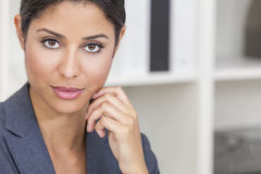 Beautiful Latina Hispanic Woman Businesswoman stock photo