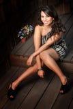 Beautiful Latina Woman Stock Images