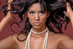 Beautiful Latino girl. Royalty Free Stock Images