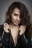 Beautiful latino rock chick Stock Photos
