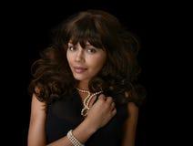 Beautiful latino Woman Stock Images
