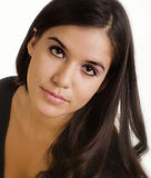 Beautiful latino young woman Stock Photo