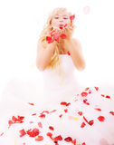 Beautiful laughing bride Royalty Free Stock Images