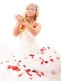 Beautiful laughing bride Royalty Free Stock Image