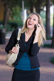Beautiful Laughing Woman Royalty Free Stock Photography