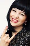 Beautiful laughing woman Royalty Free Stock Image