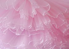Beautiful layers of delicate pink fabric background.  Royalty Free Stock Photography