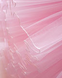 Beautiful layers of delicate pink fabric background Royalty Free Stock Images