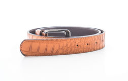 Beautiful leather belt Royalty Free Stock Images
