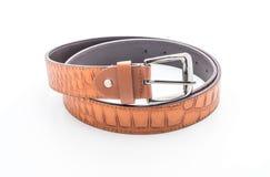 Beautiful leather belt Royalty Free Stock Image